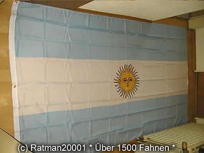 Fahnen Flagge Argentinien - 1 - 150 x 250 cm