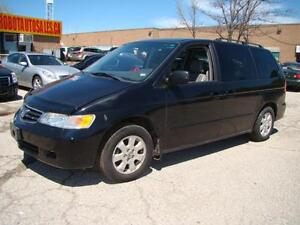 2004 HONDA ODYSSEY  - LEATHER * SUNROOF * CERTIFY * FULLY LOADED