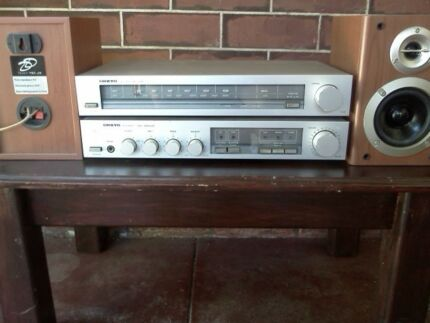 Vintage Onkyo Integrated Amplifier and Tuner