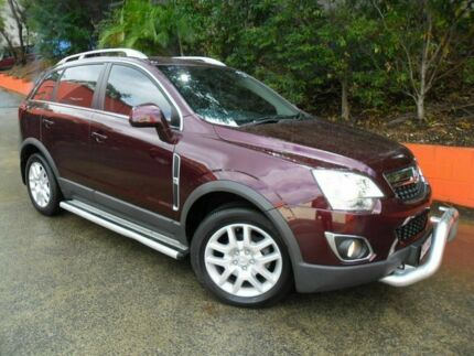2013 Holden Captiva CG MY13 5 LT Maroon 6 Speed Auto Seq Sportshift Wagon Ashmore Gold Coast City Preview
