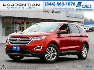 2016 Ford Edge SEL- AWD, BACKUP CAM, HEATED LEATHER SEATS, BLUET