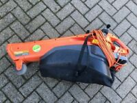 Flymo Leaf blower/vacuum c/w collector and cable