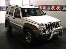 2004 Jeep Cherokee KJ MY05 Upgrade Silver 4 Speed Automatic Wagon Cardiff Lake Macquarie Area Preview