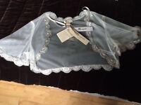 Beautiful NEW silk Lace Bridal Shrug by Monsoon. Size 14. BNWT. Wedding Bride