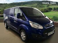 2014 FORD TRANSIT CUSTOM 290 LTD E Long Wheel base 125bhp