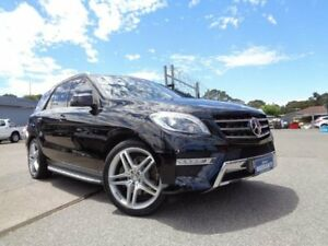 2012 Mercedes-Benz ML 166 350 CDI Bluetec (4x4) Black 7 Speed Automatic Wagon Pooraka Salisbury Area Preview