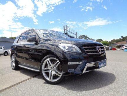 2012 Mercedes-Benz ML 166 350 CDI Bluetec (4x4) Black 7 Speed Automatic Wagon Pooraka Salisbury Area Preview