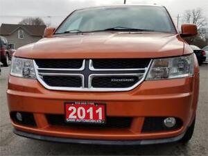 2011 Dodge Journey CREW 7 SEATS R   2 YRS WARRANTY ACCIDENT FREE
