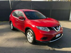 2015 Nissan X-Trail T32 ST X-tronic 2WD Red 7 Speed Constant Variable Wagon Invermay Launceston Area Preview