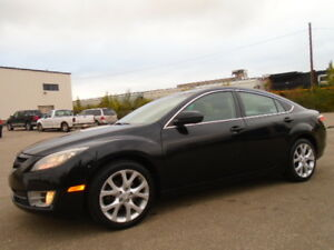 2010 Mazda Mazda6 GT-LEATHER-SUNROOF--DVD-HDTV--ONLY 125K