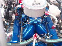 500HP502CID MERCRUISER BLUE RACING ENGINE