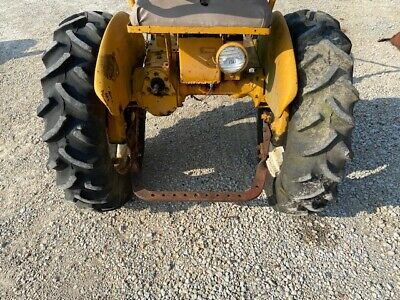 Farmall Cub Or Low Boy Tractor 9.5 X 24 Good Year Tract Tread 95 Tires Ih Rims