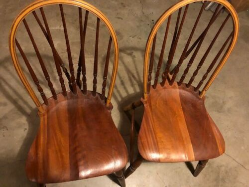 Antique Bowback Windsor Chairs - Paine Furniture Co of Boston