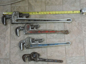 Pipe Wrench tools lowered price