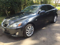 2007 07 Lexus IS 220d SE 2.2 TD 4dr SLOON DIESEL GREY
