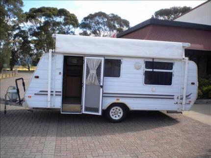 "JAYCO EAGLE 2003 16' 6"" POP TOP CARAVAN Northfield Port Adelaide Area Preview"