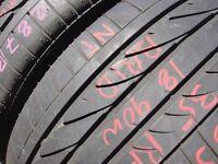 255/35/18 Bridgestone RE050A, BMW, Runflat x2 A Pair, 5.2mm (454 Barking Rd, Plaistow, E13 8HJ) Used