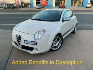 2009 Alfa Romeo Mito Sport White 6 Speed Manual Hatchback Fyshwick South Canberra Preview