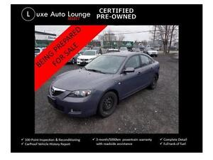 2009 Mazda Mazda3 GS - YES ONLY 64,000KM! AUTO, ALLOYS, A/C!