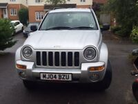 2004 Jeep Cherokee 2.8 CRD Limited 5dr Auto