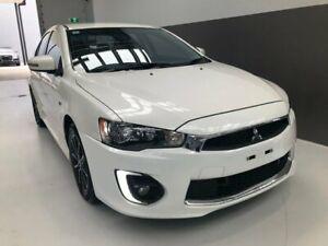 2017 Mitsubishi Lancer CF MY17 ES Sport White 6 Speed Constant Variable Sedan Berrimah Darwin City Preview