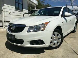 2011 Holden Cruze JH Series II CD White Semi Auto Sedan Surfers Paradise Gold Coast City Preview