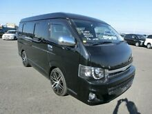 2014 Toyota Hiace Widebody longwheelbase 10 seater Low roof Black Automatic Van Burwood Burwood Area Preview