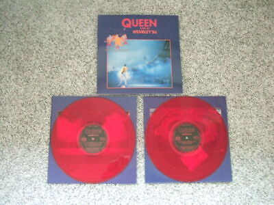 Queen LIVE AT WEMBLEY '86 gatefold 2 LP double vinyl RED made in Poland REISSUE
