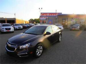 2015 CHEVROLET CRUZE 1LT CAMERA BLUETOOTH GAS SAVER EASY FINANCE