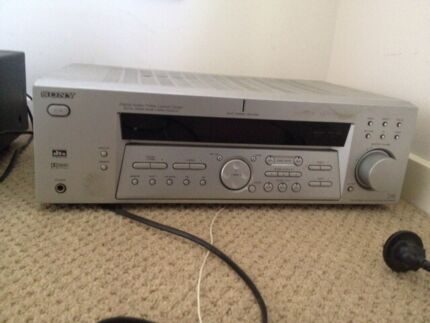 Sony 155w digital/video Dolby surround sound stereo amp Corndale Lismore Area Preview