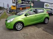 2010 Hyundai i20 PB MY11 Active Green 4 Speed Automatic Hatchback Homebush West Strathfield Area Preview