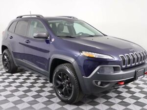 2016 Jeep Cherokee TRAILHAWK w/HEATED SEATS AND WHEEL, WINTER TI