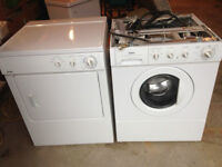 Compact Stackable Washer/Dryer Set -Hardly Used