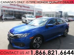 2016 Honda Civic EX-T | 1 OWNER | NO ACCIDENTS | ALL WEATHER MAT