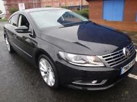 63 VOLKSWAGEN CC GT TDI BLUEMOTION TECH SAT NAV LEATHER DIESEL COUPE £30 TO TAX
