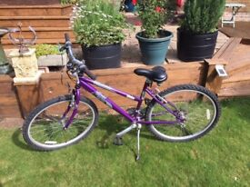 Ladies Raleigh Vixen Bicycle in like new condition