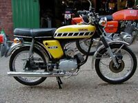 50cc motorbike wanted for light restoration.