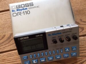BOSS DR-110 (Analog Drum Machine)