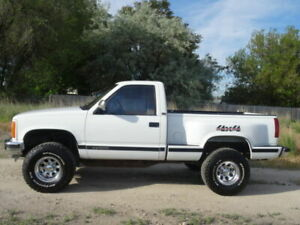 WANTED:   88-96  GM 2 door truck cab