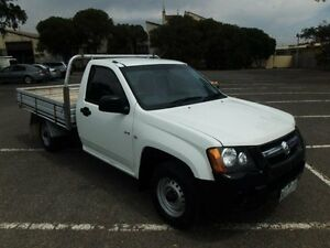 2008 Holden Colorado RC DX (4x2) White 5 Speed Manual Cab Chassis Maidstone Maribyrnong Area Preview