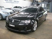 2008 Holden Commodore VE SV6 60th Anniversary Black 6 Speed Manual Utility Camden Camden Area Preview