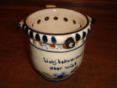 Scherztasse mit Löchern aus Keramik, ein Trick zu Trinken