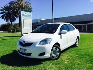 2014 Toyota Yaris NCP93R 10 Upgrade YRS White 4 Speed Automatic Sedan Maddington Gosnells Area Preview