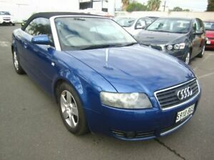 2003 Audi A4 B6 Multitronic Blue 1 Speed Constant Variable Cabriolet Melrose Park Mitcham Area Preview