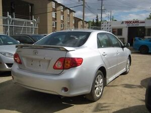 2009 Toyota Corolla SPORT - WE DO TRADES + WE FINANCE Edmonton Edmonton Area image 3