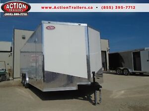 ENCLOSED CARGO/CAR HAULER LOWEST PRICE OF THE YEAR 20' LONG London Ontario image 1
