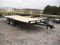 2015 18ft Deckover Trailer 10400 LB GVWR