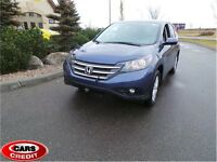 2013 Honda CR-V EX-L, Leather, Sunroof, AWD INSTANT APPROVALS