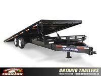 Sure-Trac Low Profile Power Tilt Deckover 15000 - 25900 LB GVWR