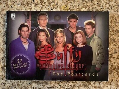 Buffy the Vampire Slayer Postcard Book - 22 New Postcards from 1999